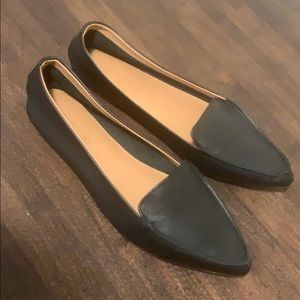 J Crew leather loafers